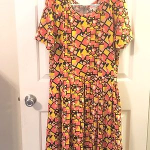 Size 3x LuLaRoe Amelia Dress (POCKETS!)